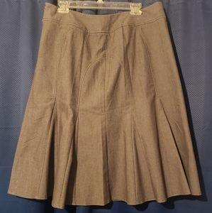 Larry Levine fit & flare skirt